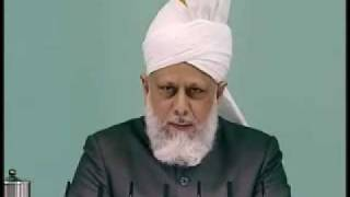 Friday Sermon: 30th April 2010 - Part 5 (Urdu)