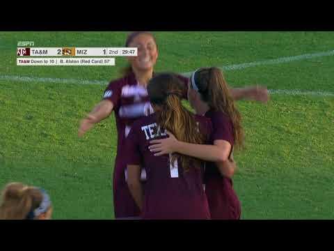 HIGHLIGHTS: Mizzou Soccer Falls to Texas A&M