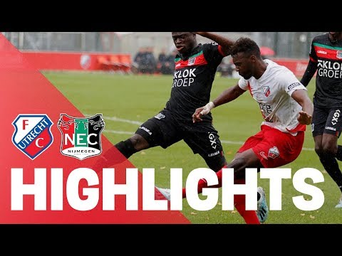 HIGHLIGHTS | FC Utrecht - NEC