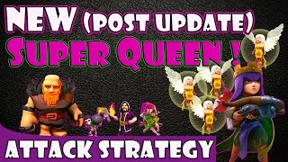 NEW BEST SUPER QUEEN Attack Strategy | TH9, TH10 & TH11 Farming Dark Elixir & Loot (Pt. 1)