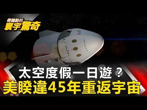 【傅鶴齡寰宇驚奇】重返月球?進軍火星?中美太空戰開打 網路版關鍵時刻 20190409