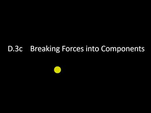 D.3c Breaking Forces into Components thumbnail