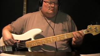 Van Halen Dreams Bass Cover with Notes and Tablature