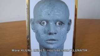 Kluna EATING colored CLAY!! Play Doh Kluna Tik Dinner #30   ASMR eating sounds no talk