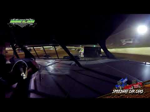 #4M Mitchell Hollaway - 604 Crate - 9-2-18 Duck River Raceway Park - In Car Camera