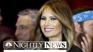 Melania Trump Steps Into the Spotlight at RNC | NBC Nightly News