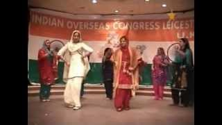 Punjabian Di Balle Balle - Indian Overseas Congress Leicester U.K. Republic Day Event 2009 (Part 2)