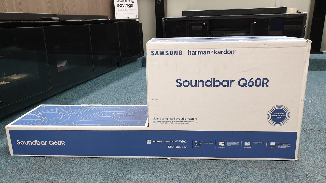 Samsung 2019 HW Q60R Soundbar Unboxing and Test