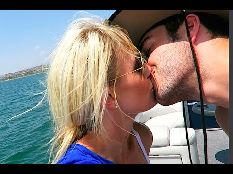 Making out on a lake