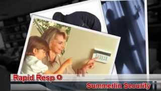 Security Alarm Monitoring | Las Vegas Security Home & Office | Summerlin Security