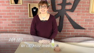 How to rehydrate metal clay with Pam East