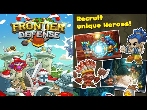 Frontier Defense (by Pine Entertainment) - iOS Universal - HD Gameplay Trailer (Holiday Update)