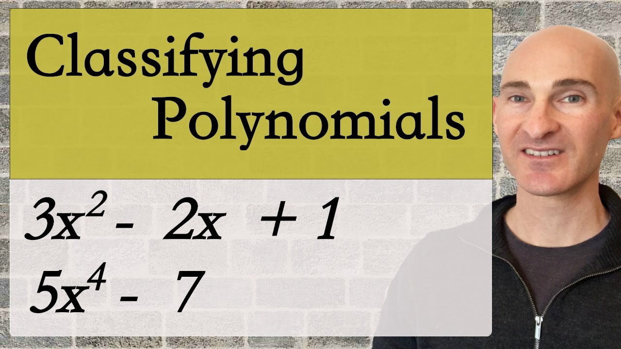 Classify Polynomials by Degree & Number of Terms