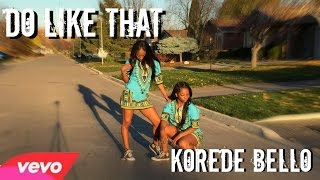 Koredo Bello - Do Like That Dance Choreography Twin Version #DoLikeThat