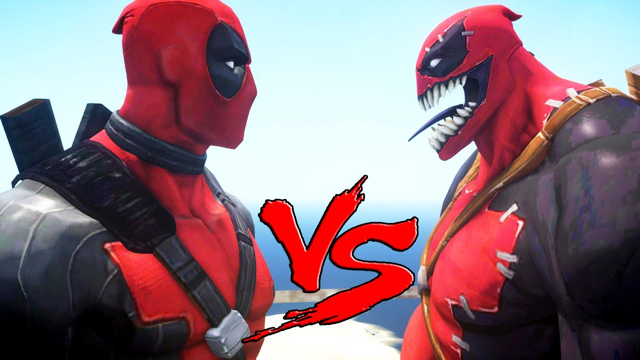 deadpool vs movie deadpool - photo #5