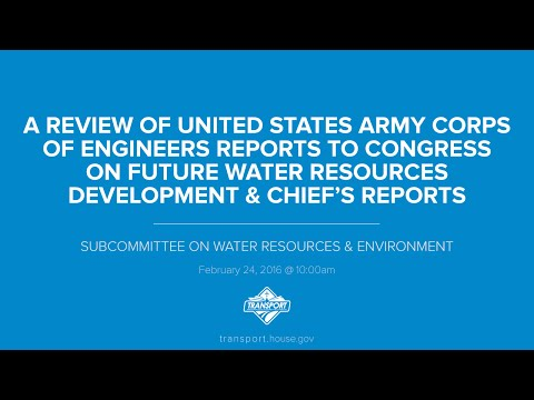 A Review of United States Army Corps of Engineers Reports to Congress