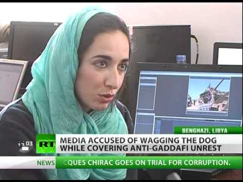 Wag the Dog: Media blamed for covering Libya unrest with fog of war