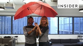 Share this Double Umbrella with Your Partner
