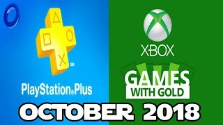 PS4 and XBOX ONE Free Games of October (2018)
