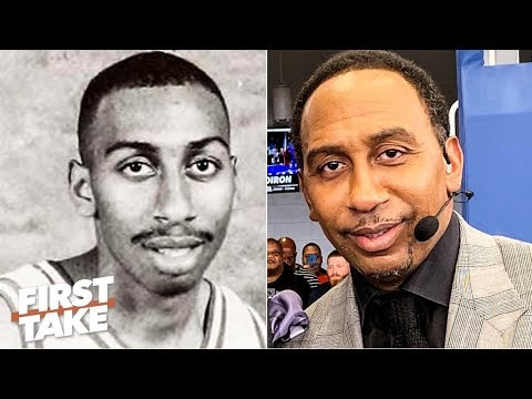 Stephen A. honored by his alma mater Winston-Salem State | First Take