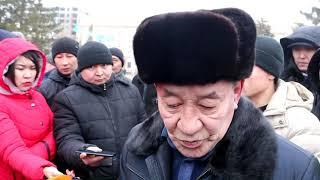 В Уральске автомобилисты снова вышли на протест