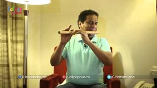 Music Director Kamalakar Flute Play Yeduta Nilichindi Choodu Song - Vaana Movie