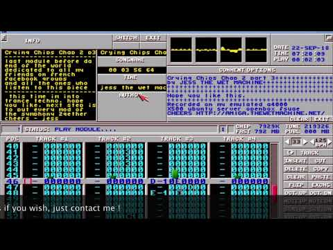 Crying Chips Chap 2 Part 3 (2018 - alpha version) - amiga protracker module - Jess the Wet Machine
