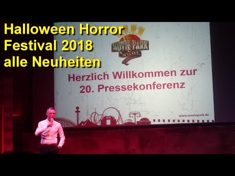 Halloween Horror Festival 2018 – Pressekonferenz – Movie Park Germany – Halloween - NEU Wrong Turn