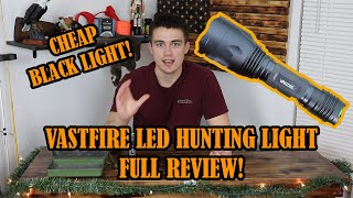 Vastfire Hunting Light Review! (GIVEAWAY!!)