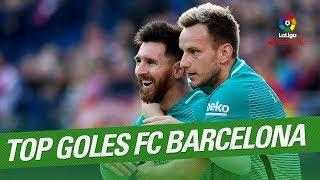 TOP 10 Goals FC Barcelona LaLiga Santander 20162017