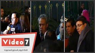 سمير صبرى ومحمد فؤاد والفيشاوى والعلايلى وحكيم وبدير فى عزاء كريمة مختار
