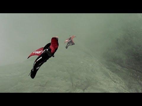 Wingsuit Pilot Narrowly Escapes Collision w/ Gondola at Tianmen Mountain   The Perfect Flight, Ep. 3