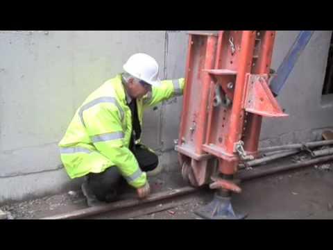 RMD Kwikform Tyne Tunnel Traveller System