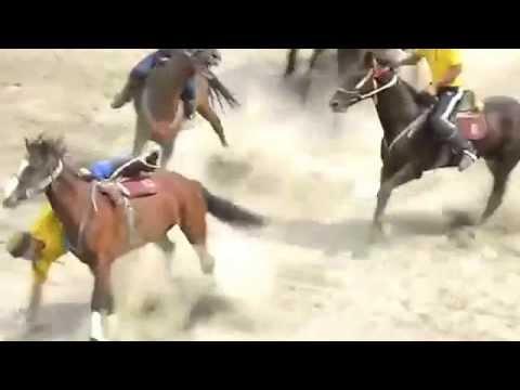 Ulak - tartysh Traditional Kyrgyz (nomad's game)