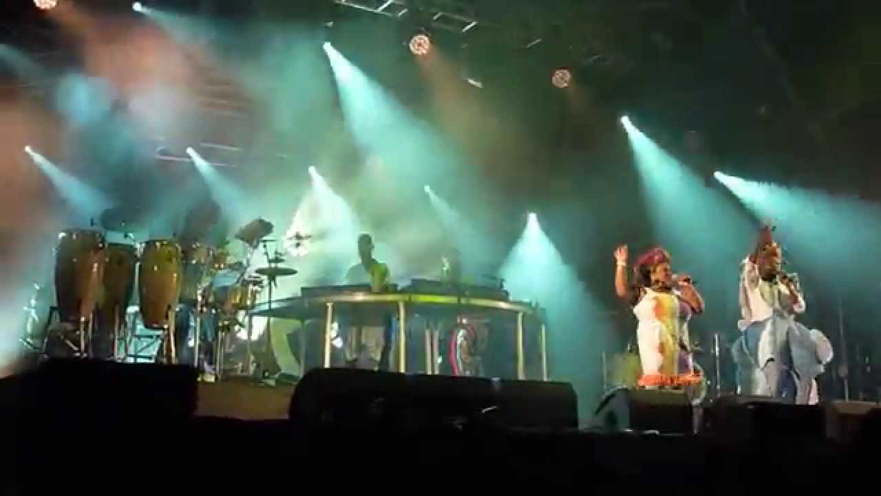 basement jaxx red alert truck festival 2015 1of4 youtube