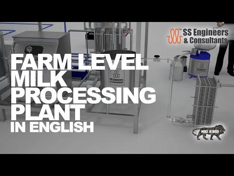 Farm Level Milk Processing Plant #MilkPlant