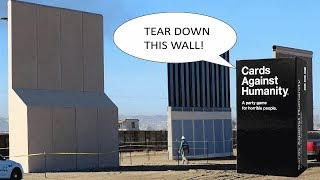 Cards Against Humanity Buys Land To Obstruct Trump Wall Construction
