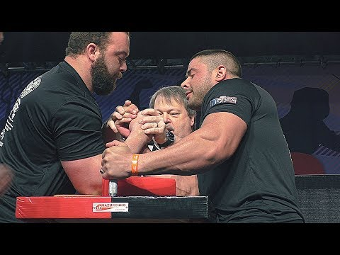 Arnolds Classic Armwrestling 2018 ALL FINALS