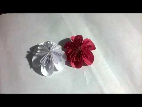 How to make a Kusudama Paper Flower   Easy origami Kusudama for beginners making i Db Origami