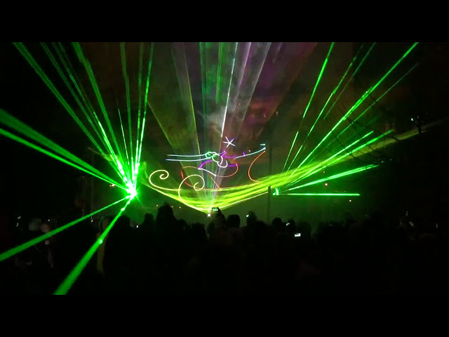 Лазерное шоу Томилино