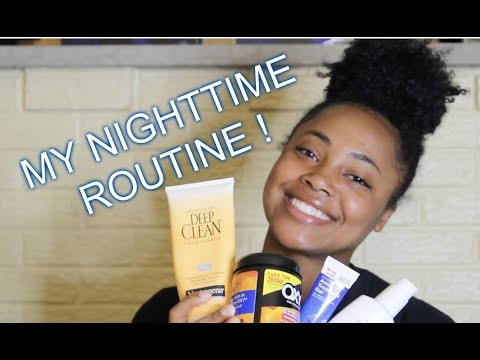 My Nighttime Skin Care Routine