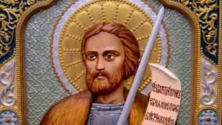 Резная икона князь Александр Невский(, 2016-11-14T07:56:59.000Z)