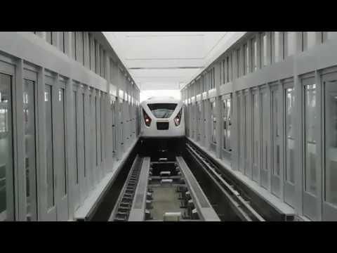 Orlando International Airport's New C Garage Tram Round Trip