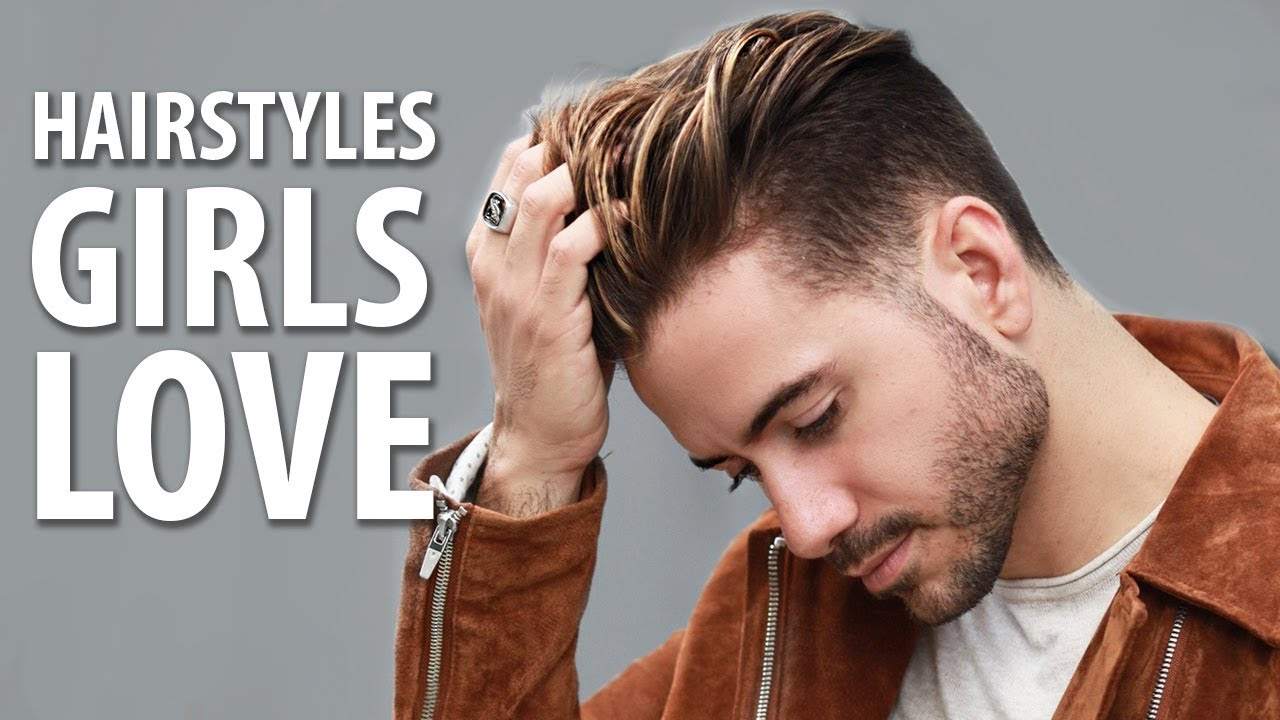 5 HAIRSTYLES GIRLS LOVE ON GUYS