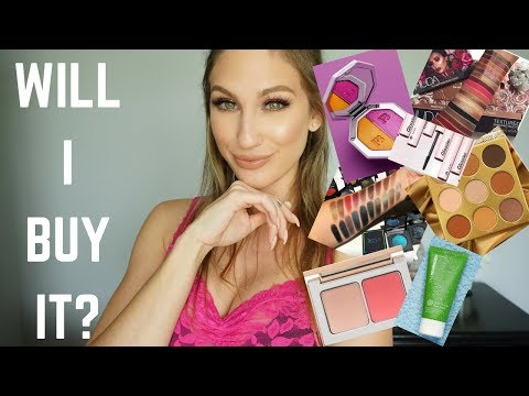 WILL I BUY IT? │ JUVIA'S PLACE, HUDA, BECCA, FENTY, MARC BEAUTY & MORE