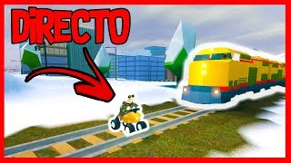 🔴 DIRECT | GREAT challenges with the train of JAILBREAK - ROBLOX