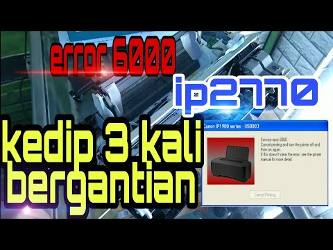 servisprinter #fixprint #ip2770blink3x #servisprintersurabaya untuk video part 1 : https://youtu.be/.
