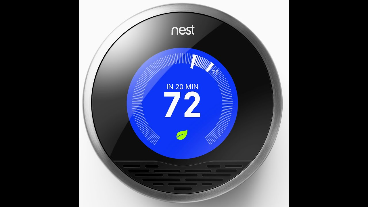 Nest 3 Thermostat And Ring Doorbell Installed   YouTube