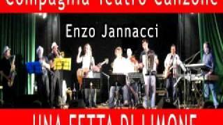 Una fetta di limone jannacci gaber - Compagnia Teatro Canzone