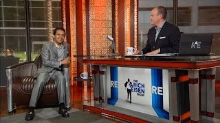 Triple Crown-Winning Jockey Victor Espinoza Joins The RE Show in Studio - 6/23/15